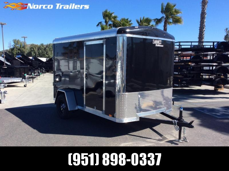 2019 Look Trailers Vision 6 X 10 Single axle Enclosed Cargo Trailer