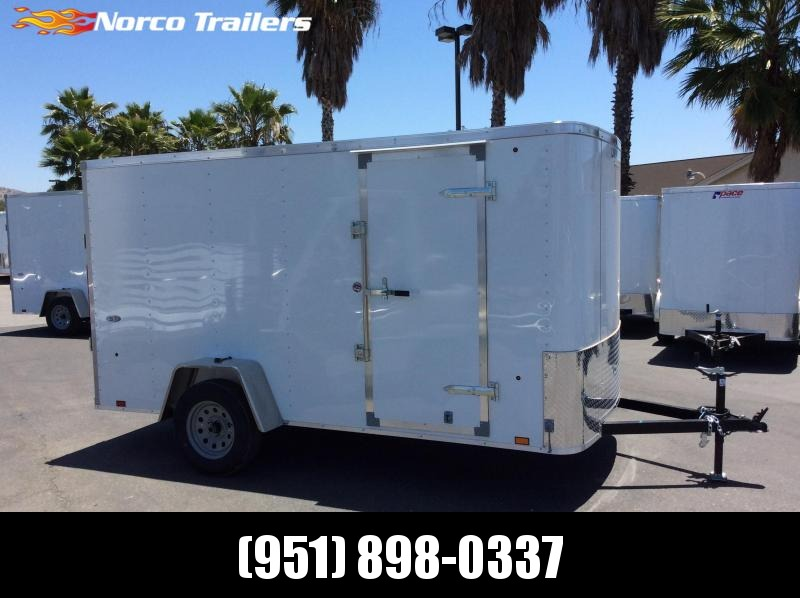2018 Look Trailers STLC 6 X 12 Single Axle Enclosed Cargo Trailer in CA