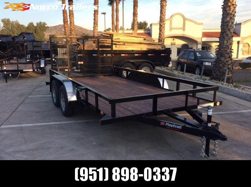 "2019 Sun Country 82"" x 14' Tandem Axle Utility Trailer"