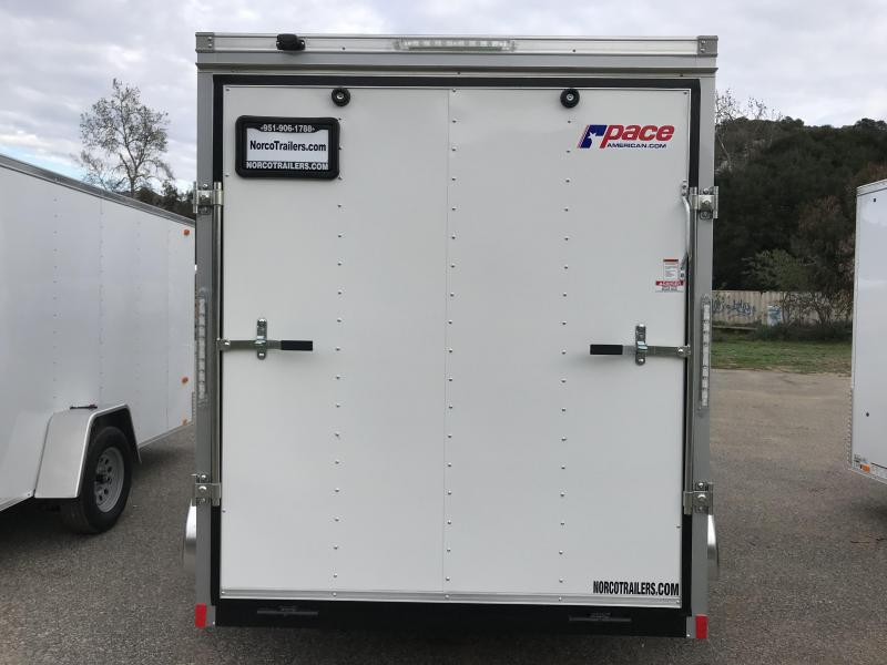 2019 Pace American Outback 6\' x 12\' Cargo / Enclosed Trailer ...