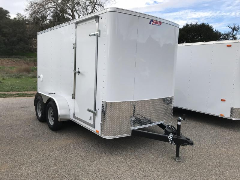 2017 Pace American Outback 6' x 12'  Cargo / Enclosed Trailer