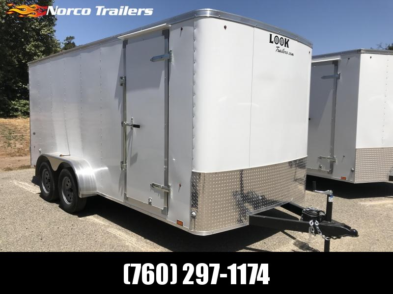 2019 Look Trailers STLC 7' x 16' Enclosed Cargo Trailer in Ashburn, VA