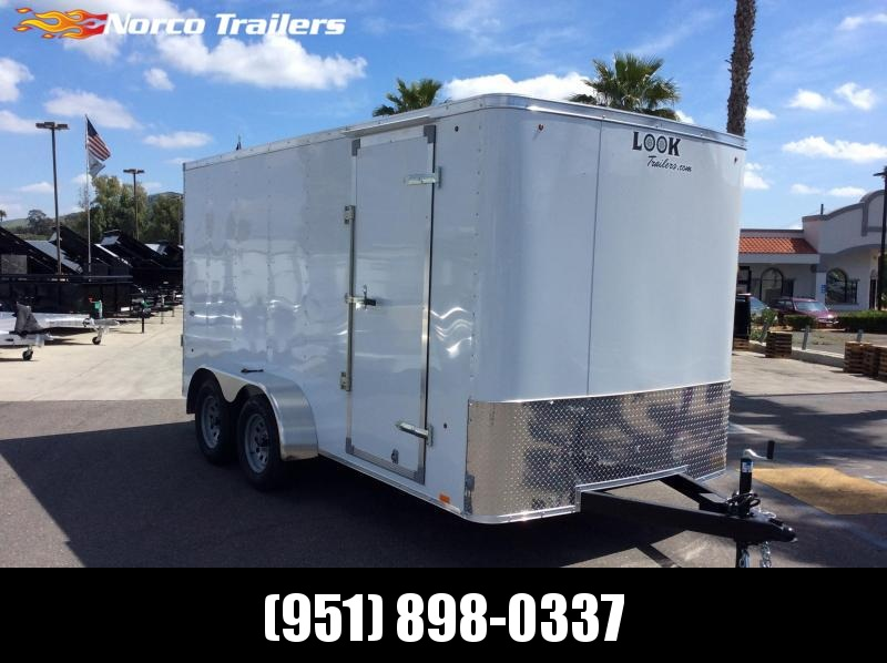 2019 Look Trailers STLC 7 X 14 TANDEM AXLE Enclosed Cargo Trailer