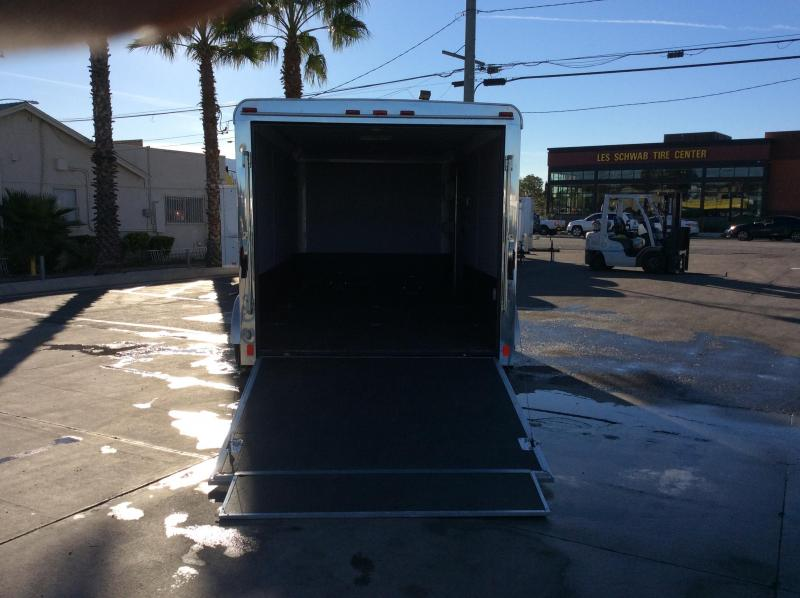 2011 Pace American Jouney 7 x 14 Tandem Axle Enclosed Cargo Trailer