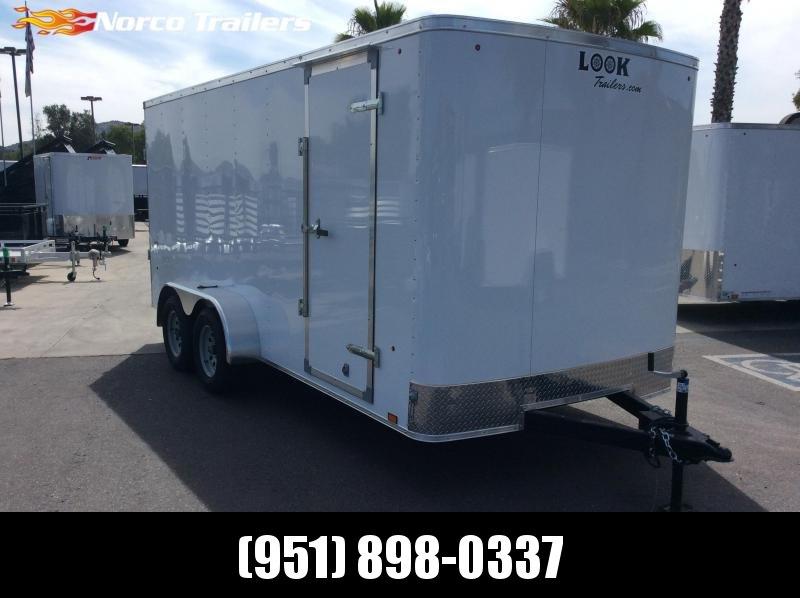 2018 Look Trailers STLC 7' X 16' Tandem Axle Enclosed Cargo Trailer