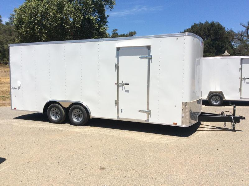 2019 Pace American Outback 8.5' x 20 7K Car Trailer