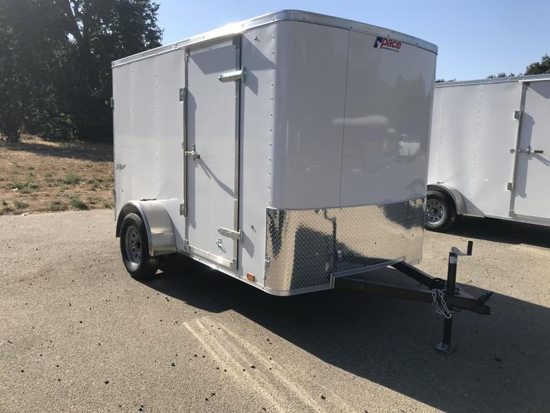 2019 Pace American Outback 6' x 10' Enclosed Cargo Trailer