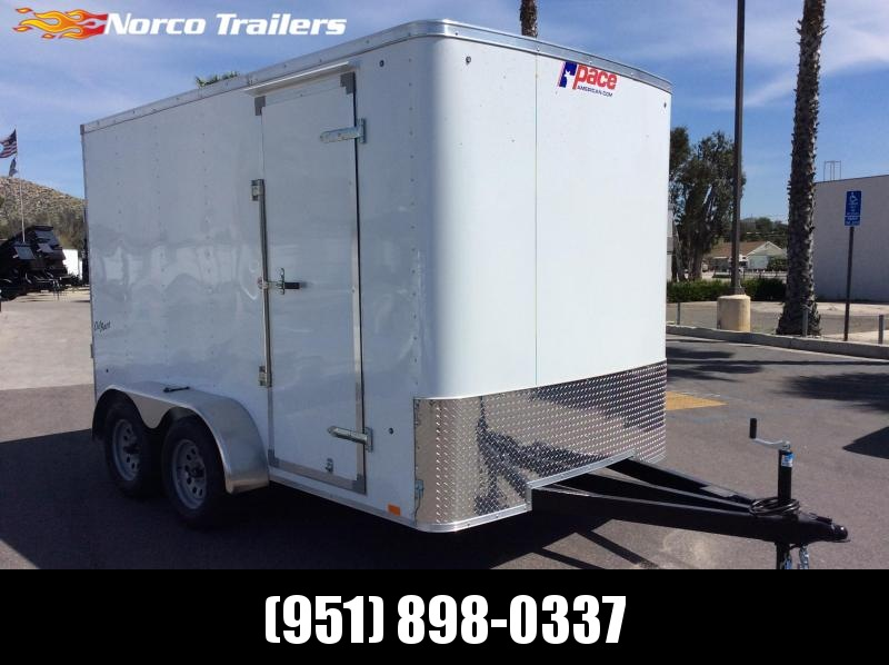 2019 Pace American Outback 7' x 12' Tandem Axle Enclosed Cargo Trailer