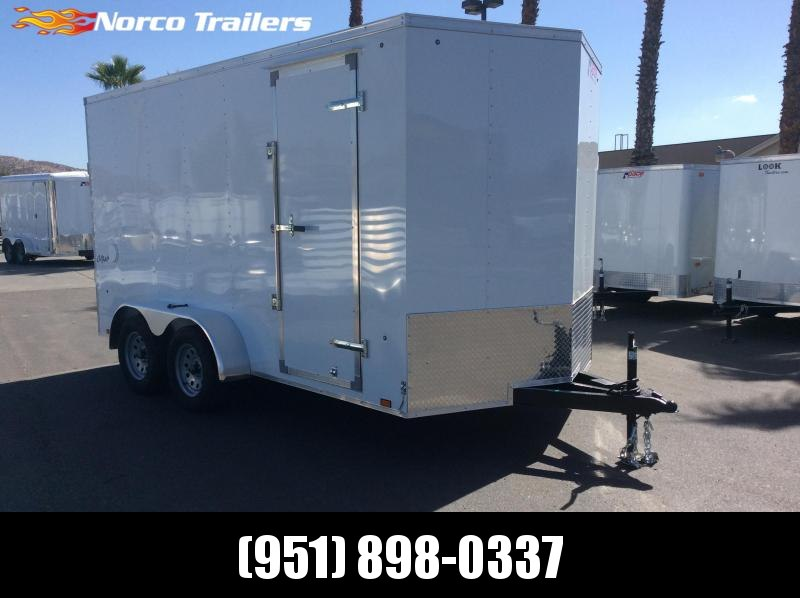 2019 Pace American Outback 7' x 14' Tandem Axle Enclosed Cargo Trailer in Ashburn, VA