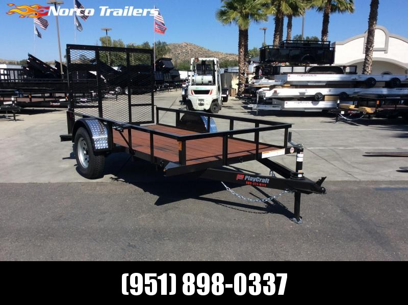2019 Playcraft 5 x 10 Single Axle Utility Trailer