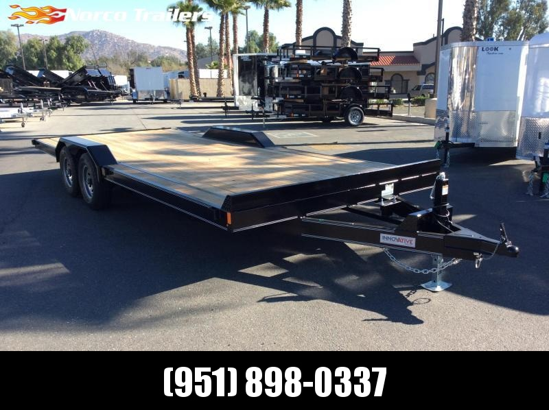 "2019 Innovative Trailer Mfg. Medium Duty Equipment Hauler 102"" x 20' Tandem Axle Flatbed Trailer"