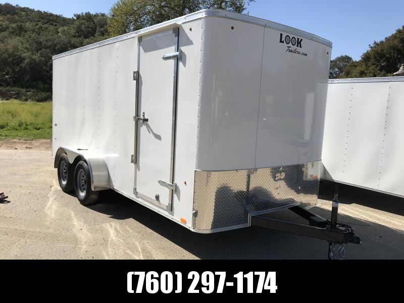 2019 Look Trailers STLC 7' x 16' Cargo / Enclosed Trailer
