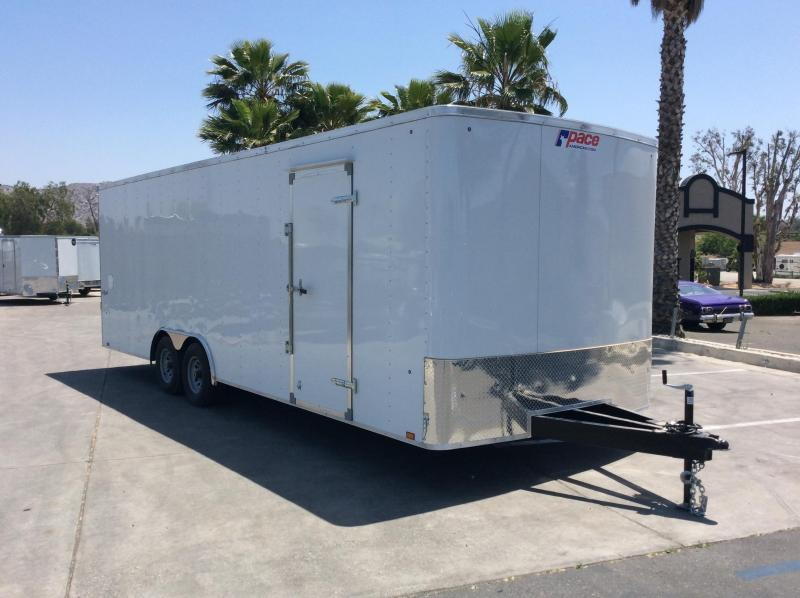2019 Pace American Outback 8.5' x 24' Tandem Axle Car / Racing Trailer