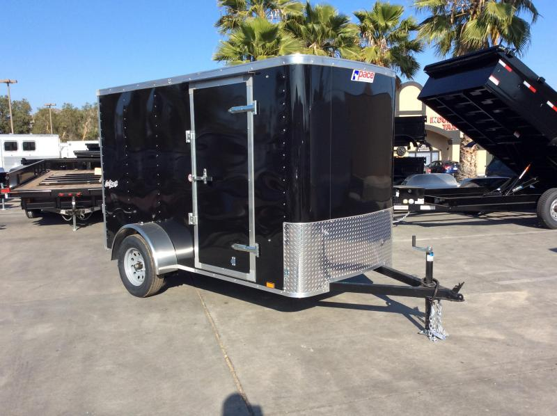 2018 Pace American Outback 5 x 10 Single Axle Enclosed Cargo Trailer