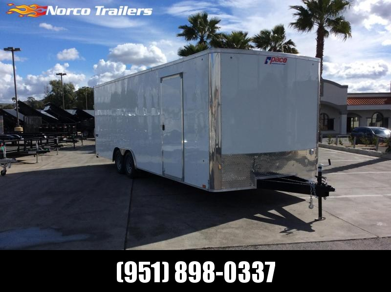 2019 Pace American Journey 8.5 x 24 Tandem Axle Car / Racing Trailer