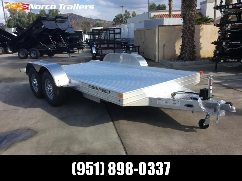 2019 Featherlite 3110 8.5' x 14' Flatbed Trailer