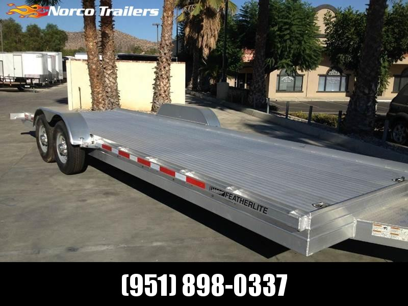2016 Featherlite 3110 8.5' x 24' Flatbed Car Equipment Trailer in Ashburn, VA