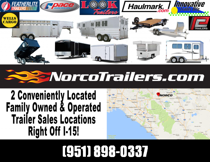 2019 Look Trailers ST 8.5 x 24 Tandem Axle Car / Racing Trailer