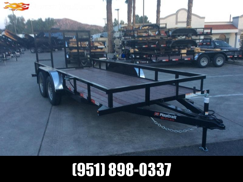 "2019 Sun Country 77"" x 16' Tandem Axle Utility Trailer"