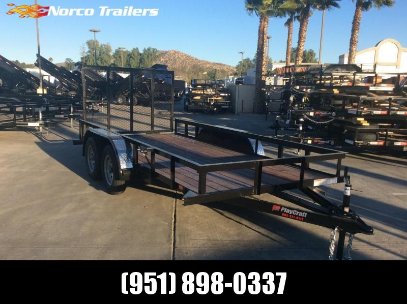 "2019 Sun Country 77"" x 14' Tandem Axle Utility Trailer"