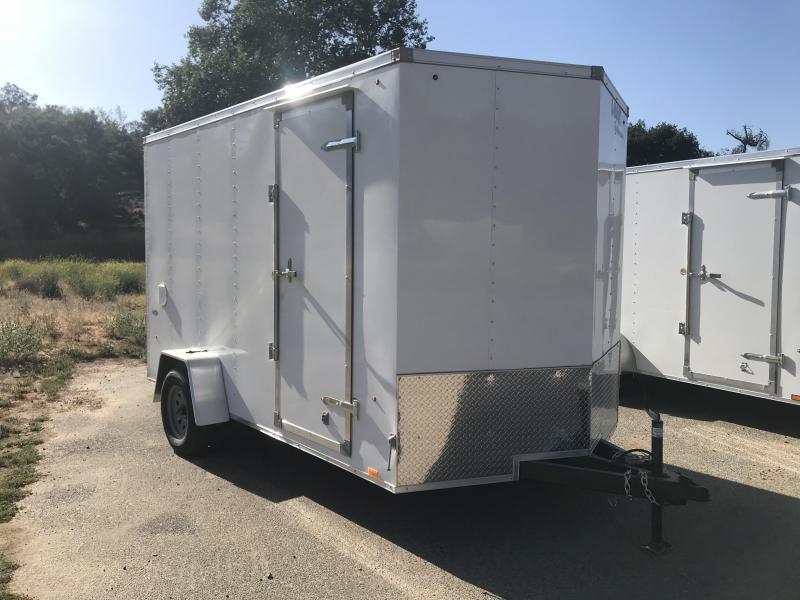 2019 Look Trailers STLC Vnose 7' x 12' Enclosed Cargo Trailer