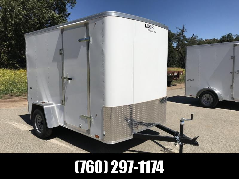 2019 Look Trailers STLC 6' x 10' Cargo / Enclosed Trailer