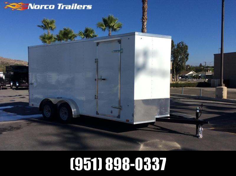 2019 Pace American Outback 7 x 16 Tandem Axle Enclosed Cargo Trailer in Ashburn, VA