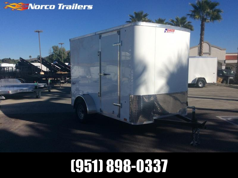 2019 Pace American Outback 6' x 10' Single Axle Enclosed Cargo Trailer