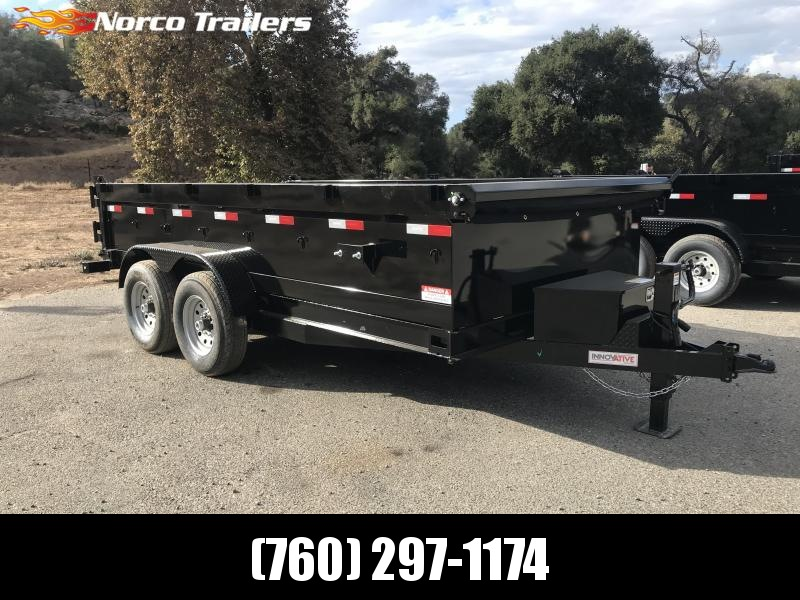 "2019 Innovative Trailer Mfg. 83"" x 14' 14K Dump Trailer"