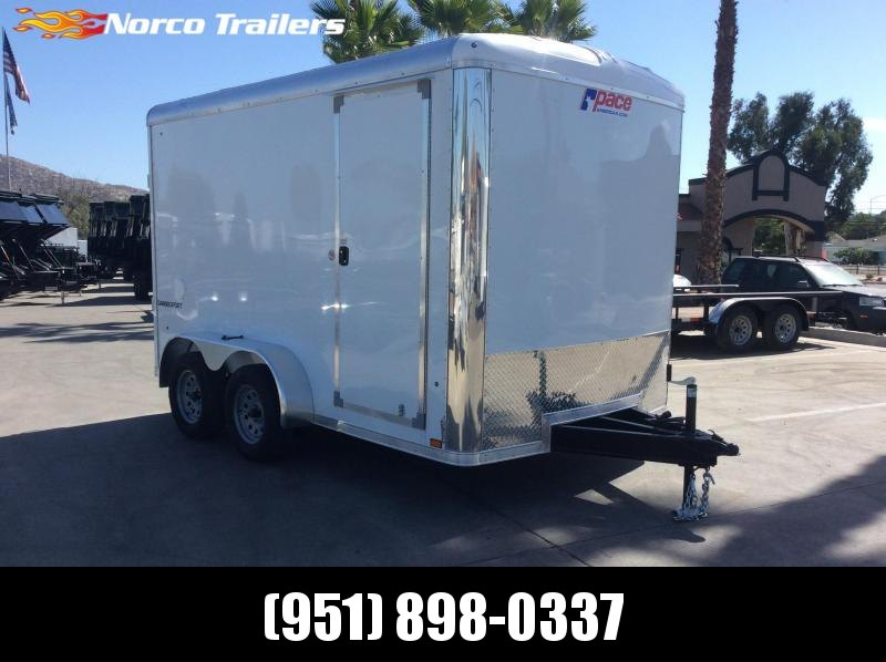 2019 Pace American Cargo Sport 7' x 12' Tandem Axle Enclosed Cargo Trailer