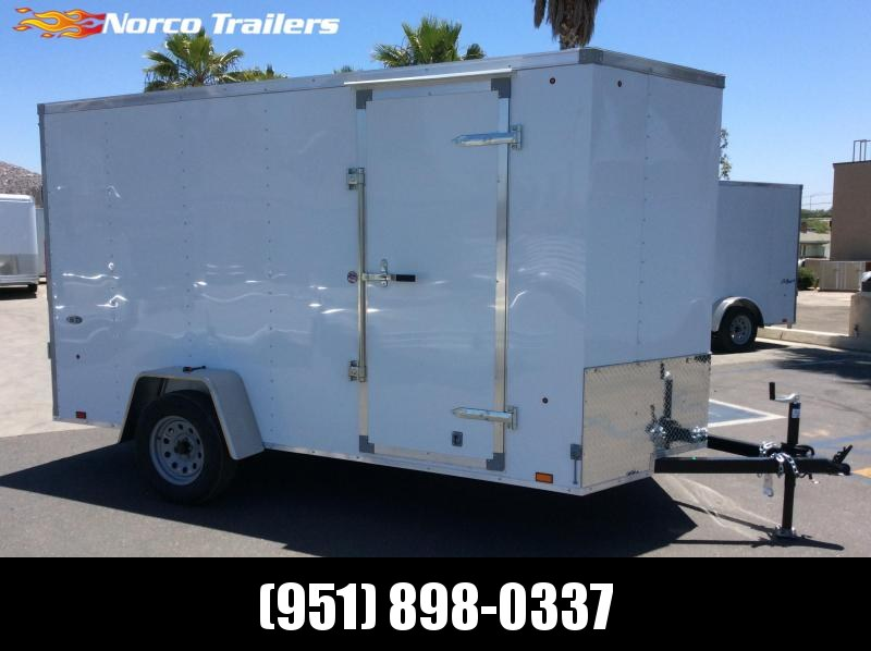 2019 Look Trailers STVLC 6 x 12 Single Axle Enclosed Cargo Trailer