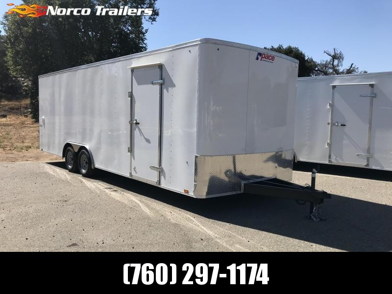 2019 Pace American Outback 8.5' x 24' 7K Auto Car / Racing Trailer