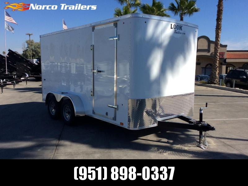 2019 Look Trailers STLC 7' x 14' Tandem Axle Enclosed Cargo Trailer