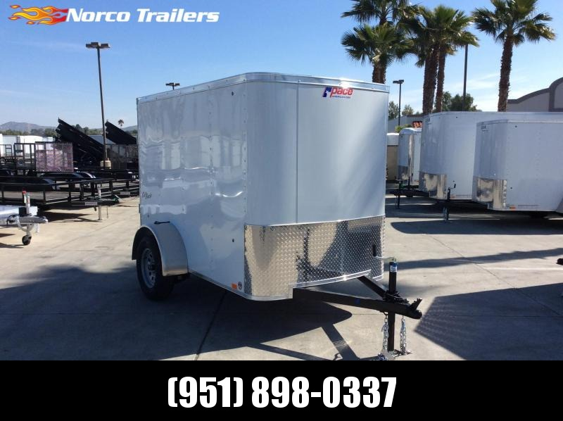 2019 Pace American OB 5 X 8 Single Axle Enclosed Cargo Trailer