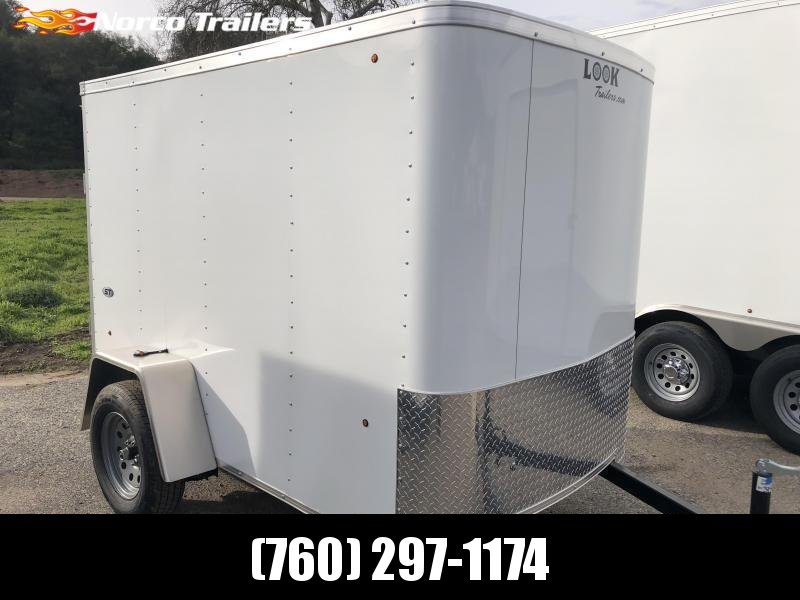 2019 Look Trailers STLC 5' x 8' Enclosed Cargo Trailer