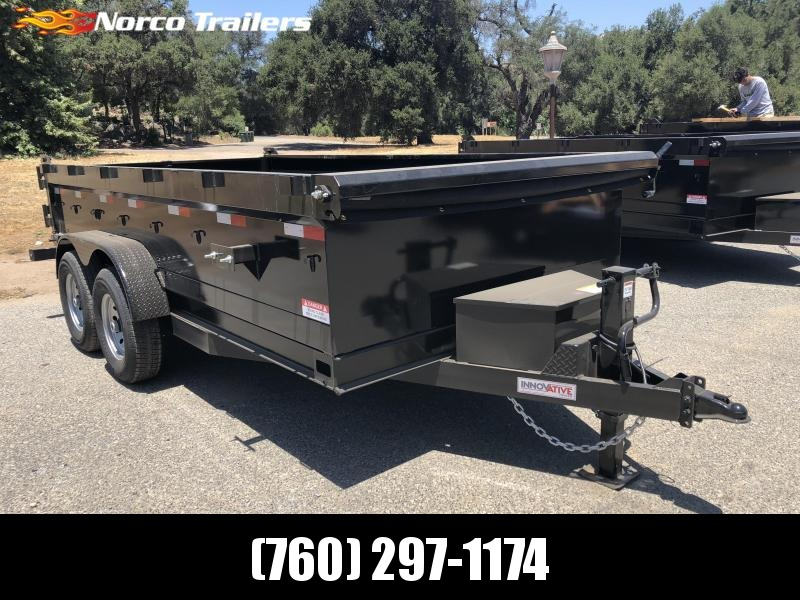 "2018 Innovative Trailer Mfg. 83""  x 14' 14K Dump Trailer"