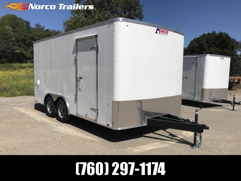 2019 Pace American Outback 8.5' x 16' 10K Car / Racing Trailer  in Ashburn, VA