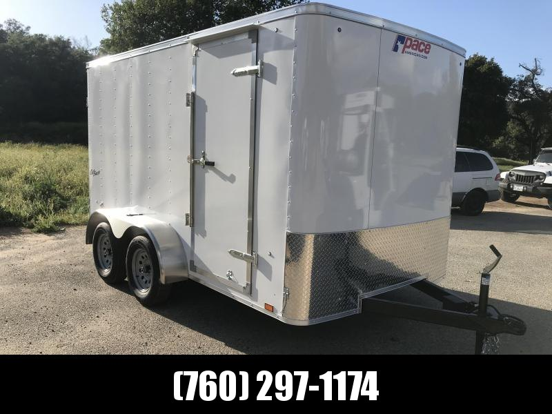 2019 Pace American ob 7 x 12 Enclosed Cargo Trailer
