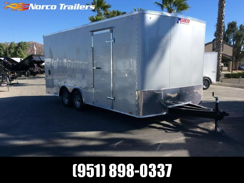 2019 Pace American Outback 8.5 x 18 Tandem Axle Car / Racing Trailer