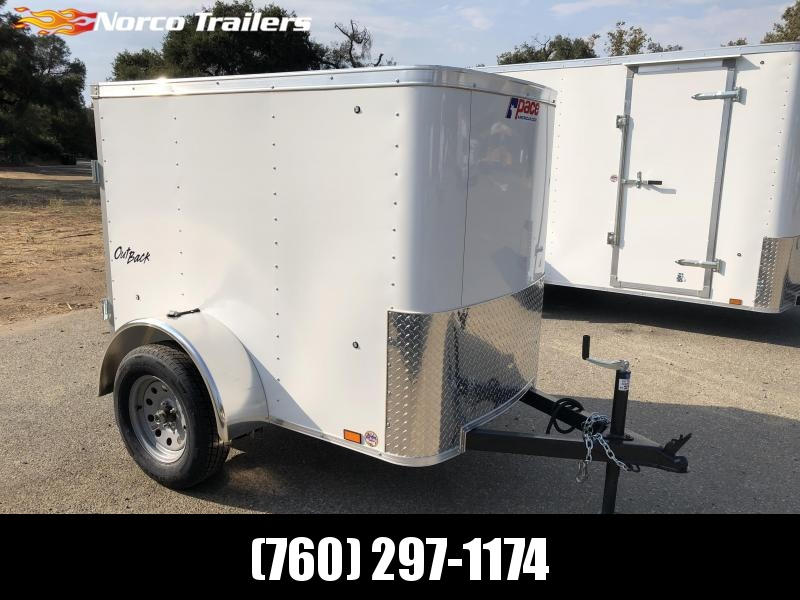 2019 Pace American Outback 4' x 6' Enclosed Cargo Trailer in Ashburn, VA