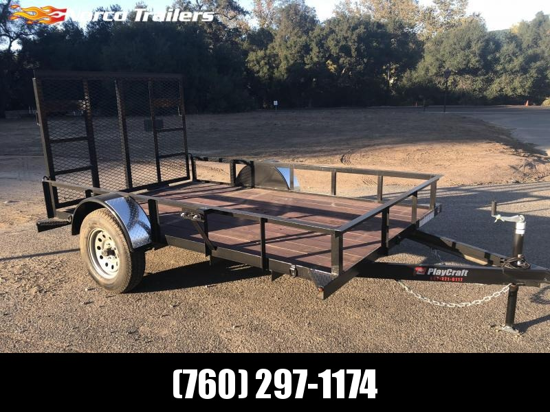 2018 Sun Country Playcraft 6 x 10 Single Axle Utility Trailer
