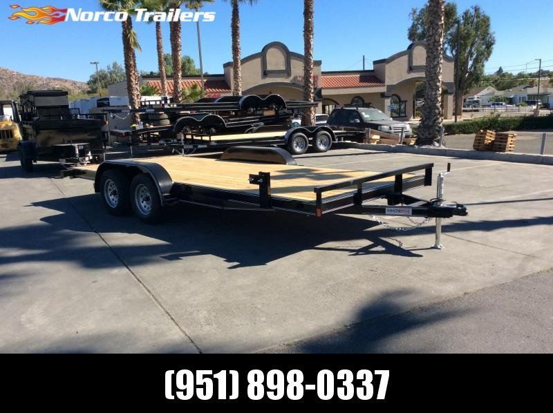 2019 Innovative Trailer Mfg. Economy Wood Car Hauler 83 x 18' Flatbed Trailer