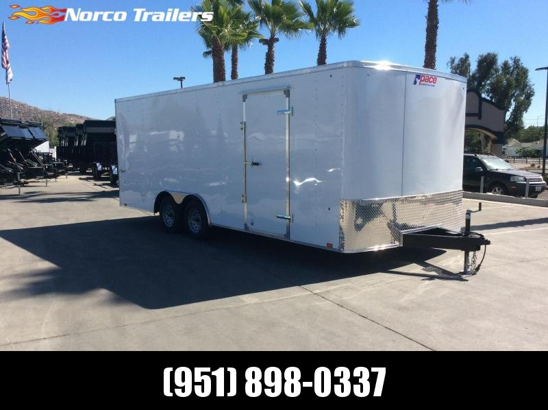 2019 Pace American Outback 8.5' x 20' Tandem Axle Car / Racing Trailer