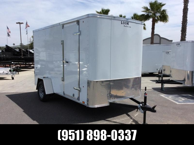 2019 Look Trailers STLC 6 x 12 Enclosed Cargo Trailer