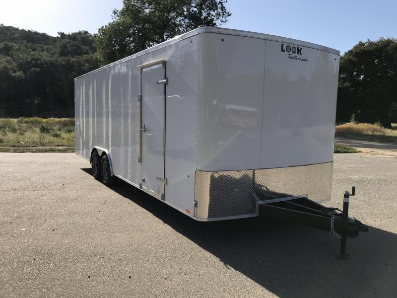 2019 Look Trailers ST 8.5' x 24' 10K Car / Racing Trailer