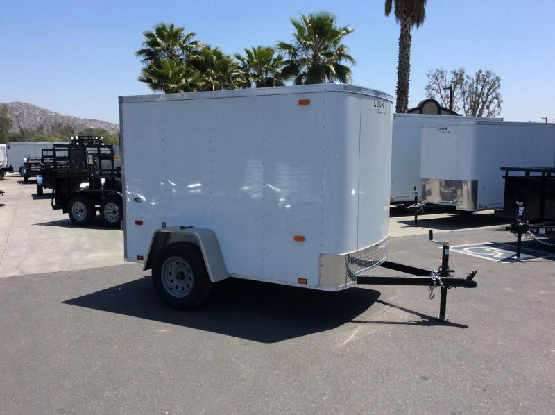 2018 Look Trailers STLC 5' x 8' Single Enclosed Cargo Trailer