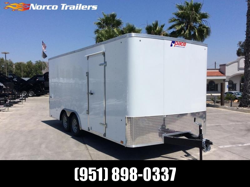 2020 Pace American Outback 8.5 x 18 Tandem Axle Car / Racing Trailer