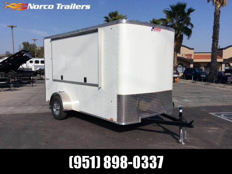 2018 Pace American Outback 6' x 12' Single Axle Enclosed Concession Trailer
