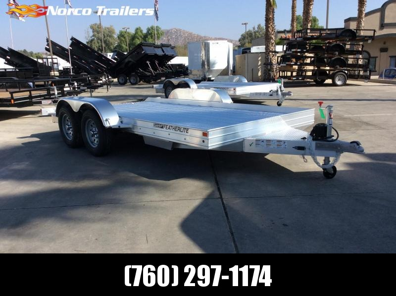 2019 Featherlite 8.5 X 14 3110 Flatbed Trailer