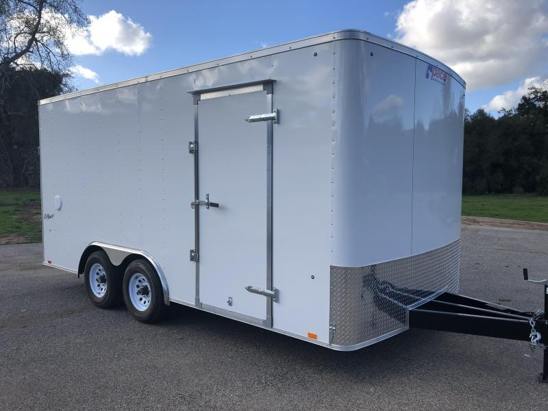 2019 Pace American Outback 8.5' x 16' 10K Auto Car / Racing Trailer